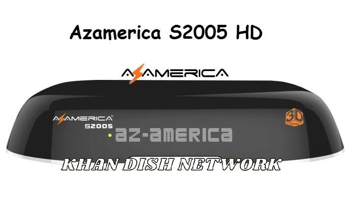 Atualização Azamerica S2005 HD