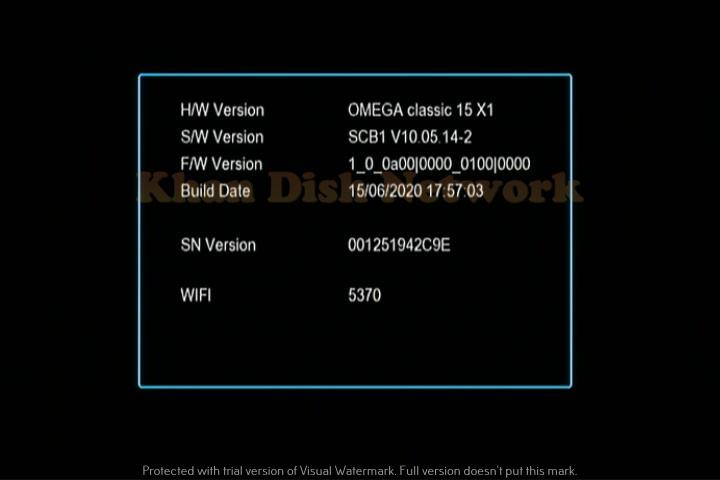 Omega Classic Sunplus 1506tv