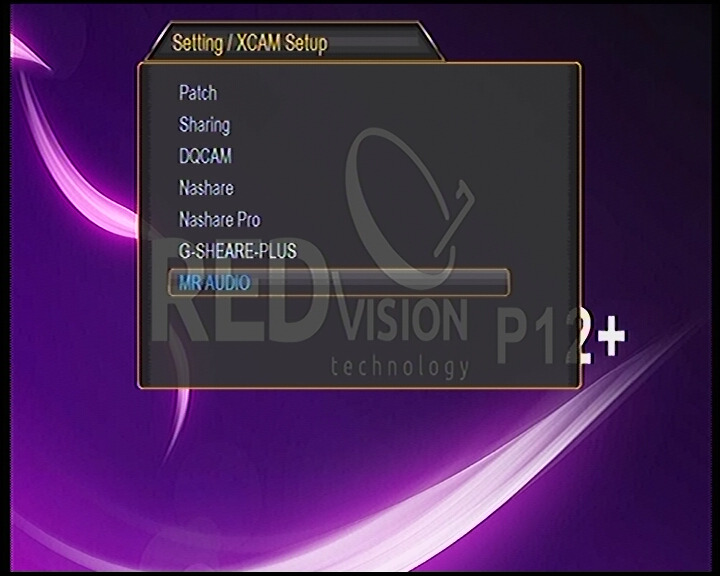 REDVISION p12 software