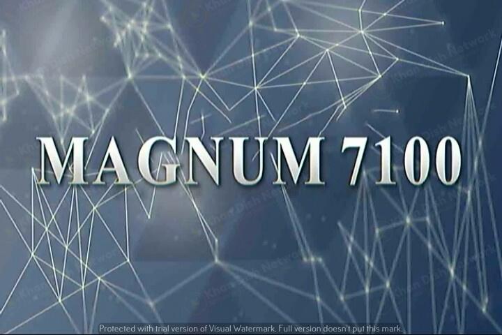 Magnum 7100 New Software