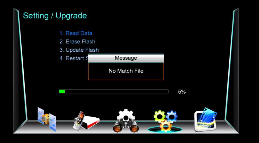No Match file Solution