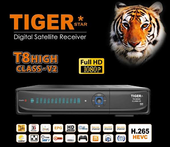 Tiger t8 High Class V2 New Software