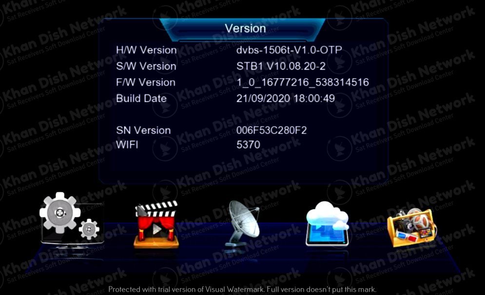 Oryx m1 new software