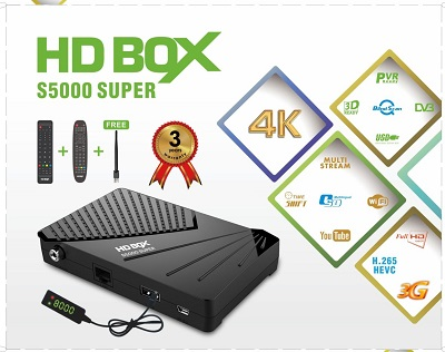 Star track HD box s500 super