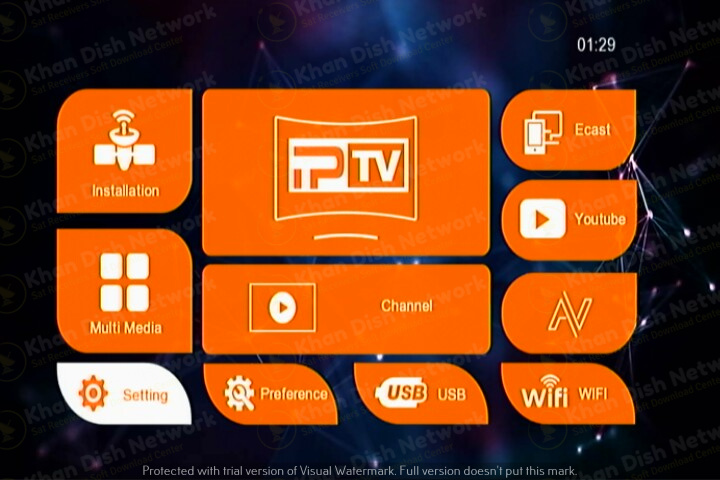 Senator 111 1506tv new software