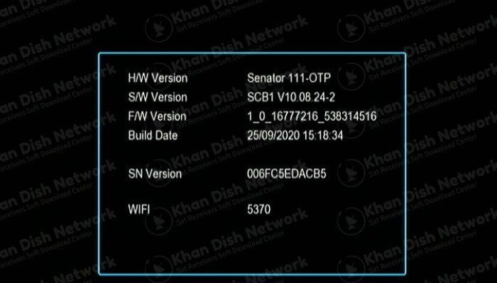 senator 111 new software