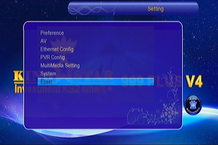 Kingstar 999 plus V4 software