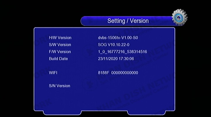 1506tv built-in wifi new software