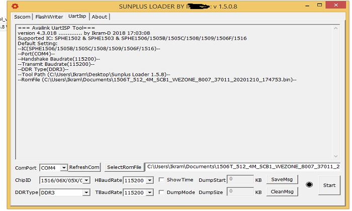 sunplus loader