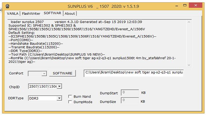Sunplus 2507L loader