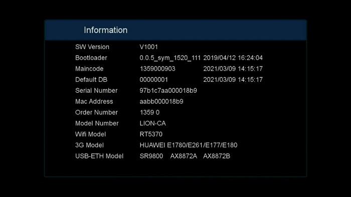 Lion CA s2x cs8001