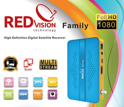 RedVision Family New Software