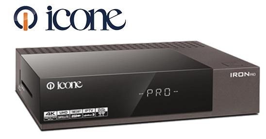Icone Iron Pro 4k new software