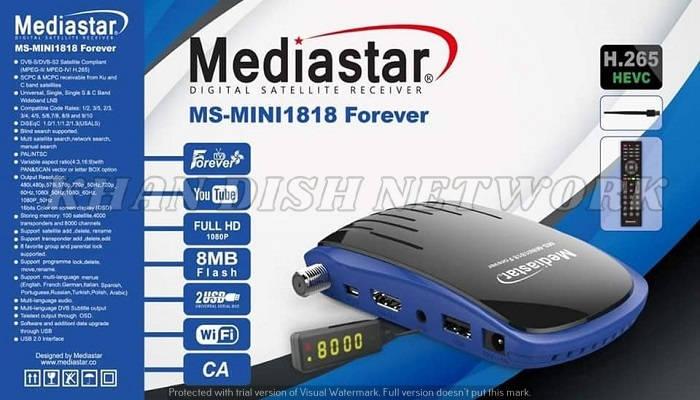 MediaStar MS-Mini 1818 Forever Update