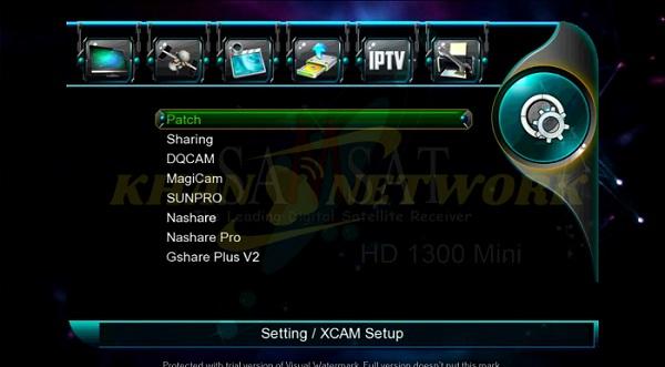 Samsat HD 1300 Mini Software
