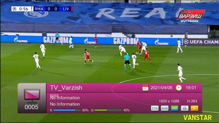 Vanstar V8 Extreme HD UPDATE