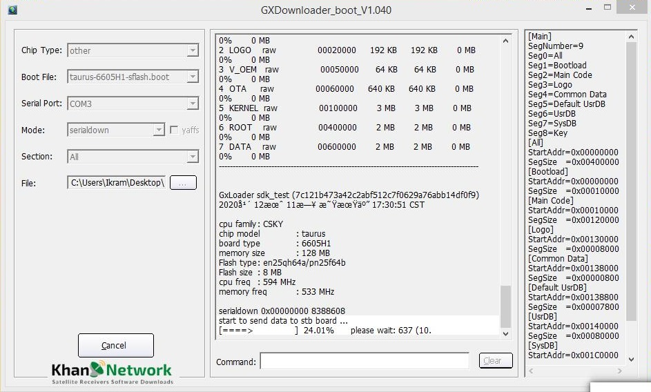 echolink t10 pro loader