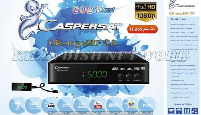 Caspersat CR-1030 HD CA Software