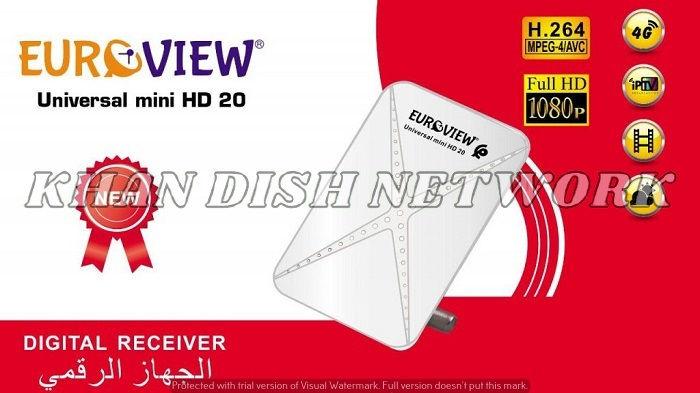EUROVIEW UNIVERSAL MINI HD 20
