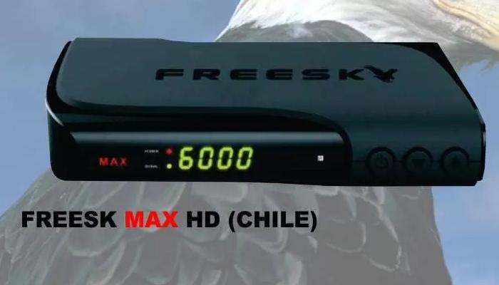 Freesky Max HD Chile Software Update