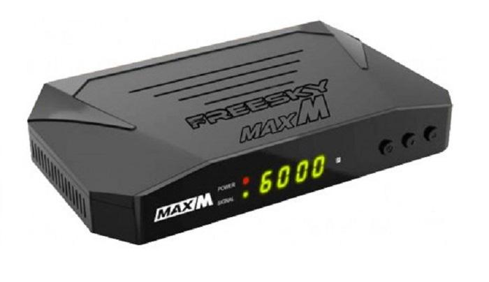 FREESKY-MAX-M-atualizacao