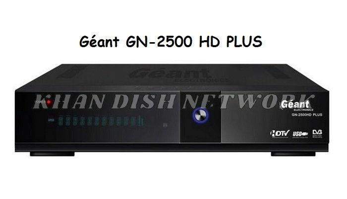Géant GN 2500 HD Plus