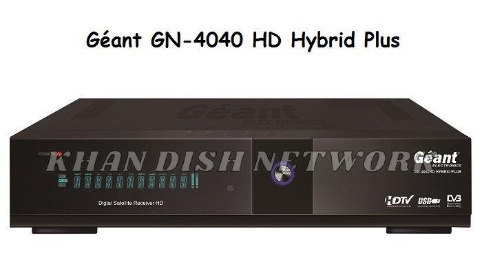Géant GN-4040 HD Hybrid Plus Software