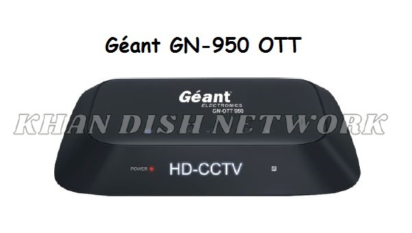 Géant GN-950 OTT SOFTWARE