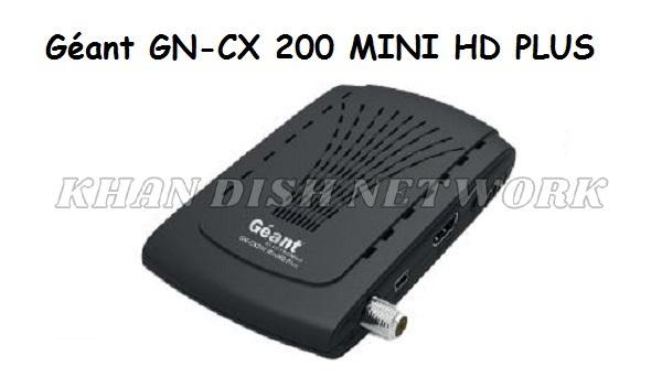 Géant GN-CX 200 MINI HD PLUS