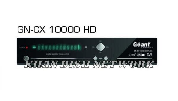 Géant GN-CX10000 HD Plus New Software Update