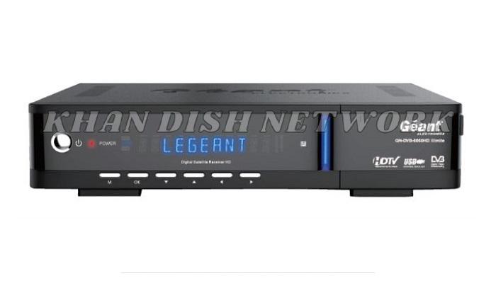 Géant GN DVB 6060 HD ILLIMITE SOFTWARE UPDATE