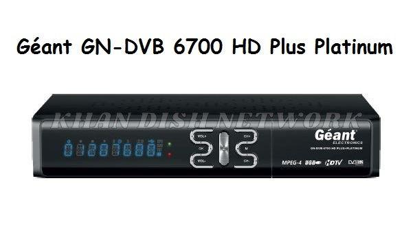 Géant GN-DVB 6700 HD Plus Platinum