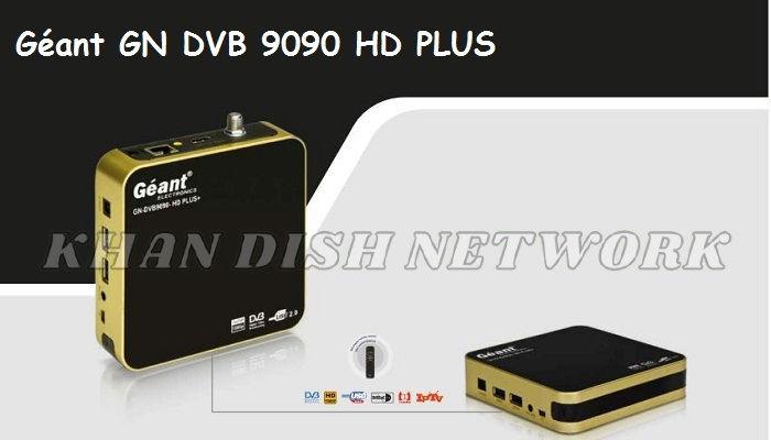 Géant GN DVB 9090 HD PLUS SOFTWARE