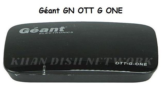Géant GN OTT G ONE