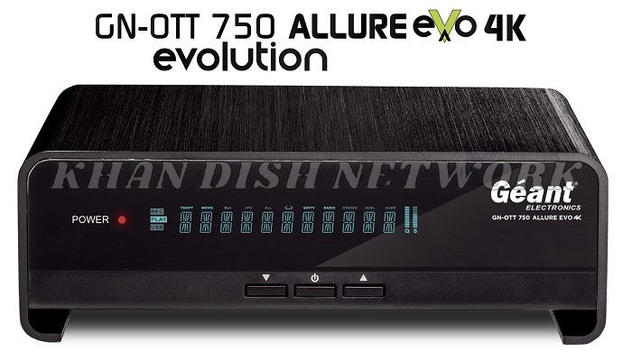 Géant Ott 750 Allure Evo 4k Software Update