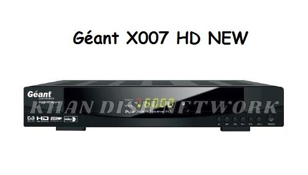 Géant X007 HD NEW
