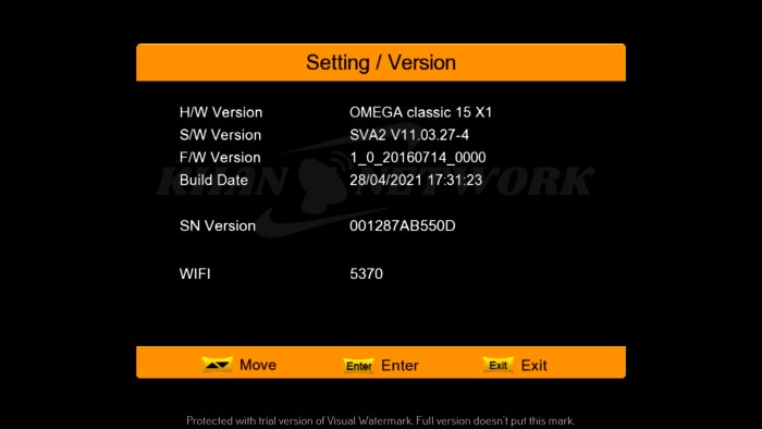 Omega Classic 15 X1 1506tv