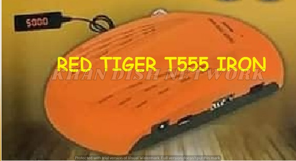 TIGER T555 IRON SOFTWARE