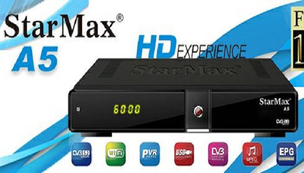 STARMAX A5 NEW SOFTWARE UPDATE | SPECIFICATIONS