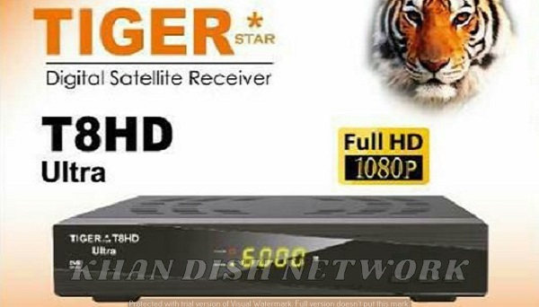 Tiger T8 HD Ultra new software