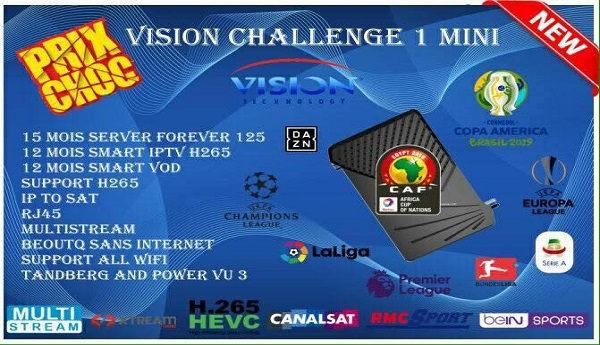 VISION CHALLENGE 1 MINI SOFTWARE UPDATE