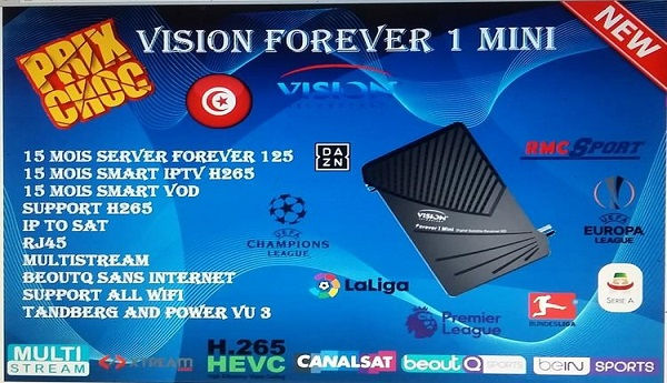 Vision Forever 1 Mini New Software Update & Specifications