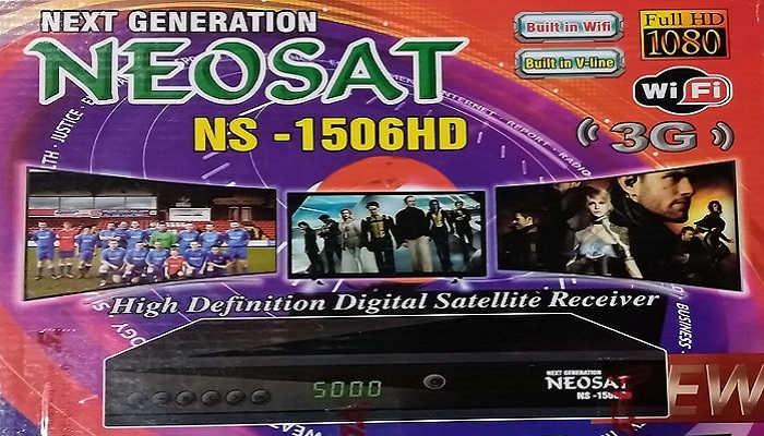 neosat-NS1506HD-software