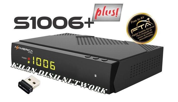 Azamerica S1006 HD Plus Nova Atualização