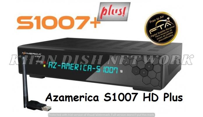 Azamerica S1007 HD Plus Nova Atualização