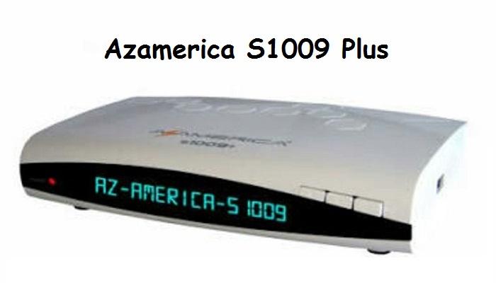 Azamerica S1009 Plus atualização