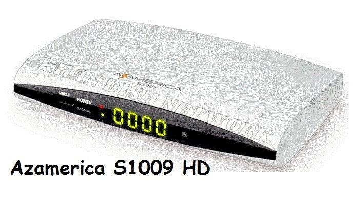 Azamerica S1009 HD Nova Atualização