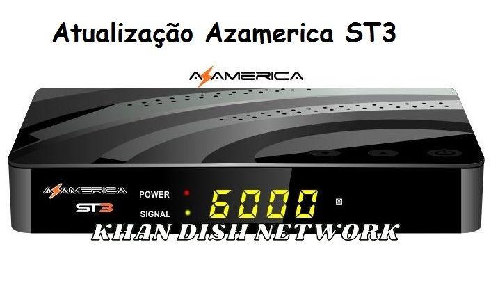 Azamerica ST3 Nova Atualização