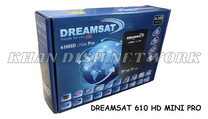 DREAMSAT 610 HD MINI PRO