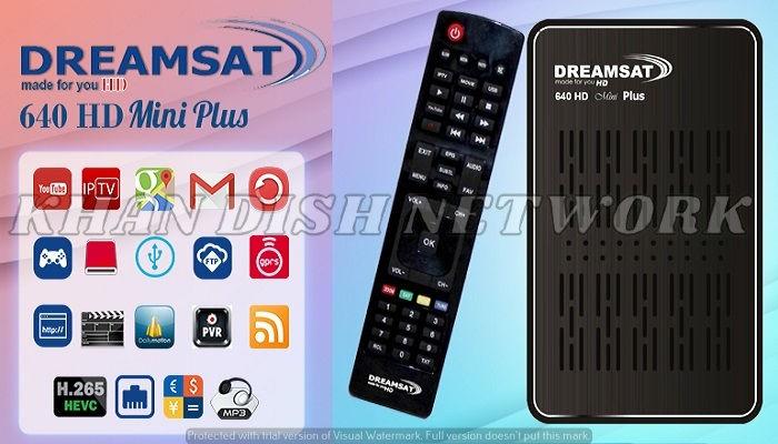 DREAMSAT 640 HD MINI PLUS SOFTWARE